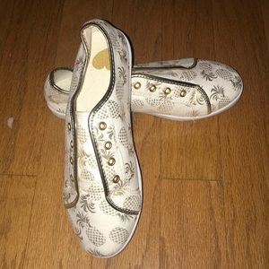 Pineapple Tennis Shoes